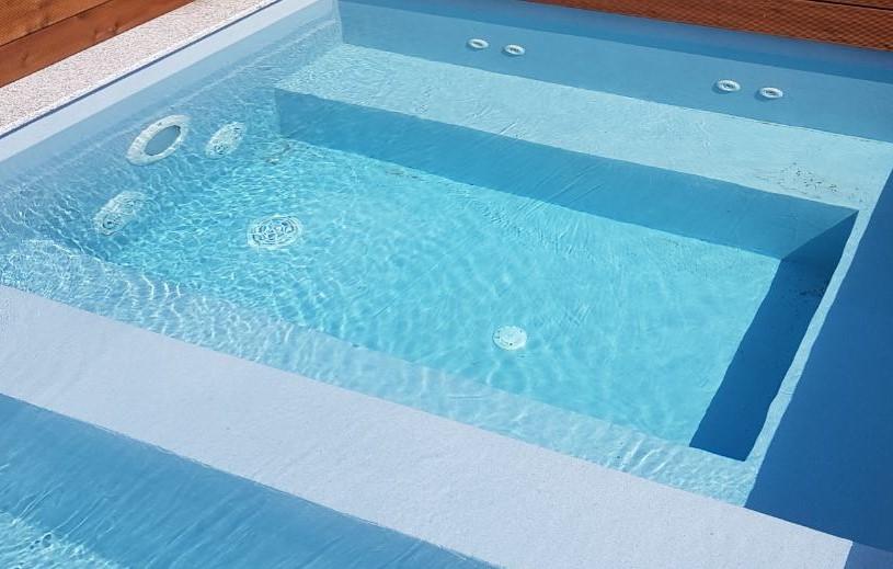 Полимерно покритие за облицовка на басейн Eco Finish